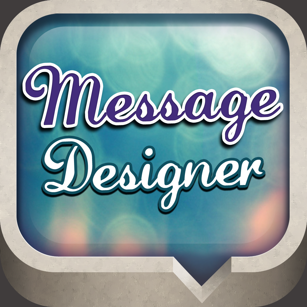 Iphone Text Message Bubble Template Message designer - textured ...
